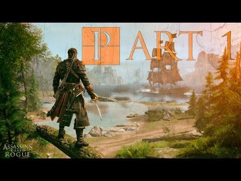 Assassin's Creed ROGUE Walkthrough PART 1 | Начало игры на Русском Языке PS3 1080p