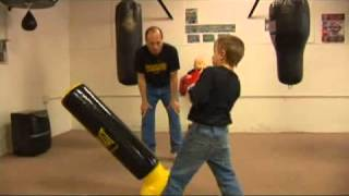 Youth Boxing Gear: Inflatable Punching Bags