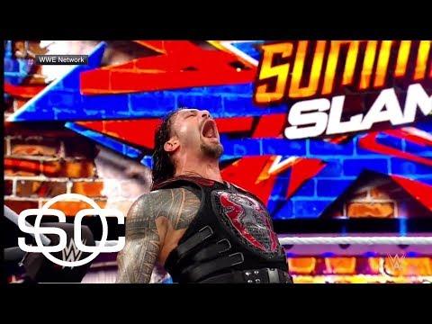 Roman Reigns recalls WWE SummerSlam 2017   SportsCenter   ESPN