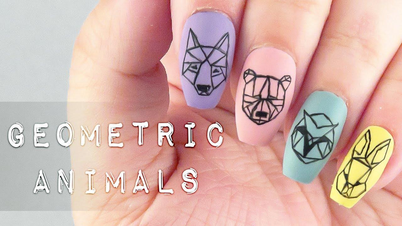 Nail Art Geometric Tutorial