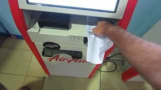 AirAsia Self Check-in and KLIA Low Cost Carrier Terminal (LCCT)