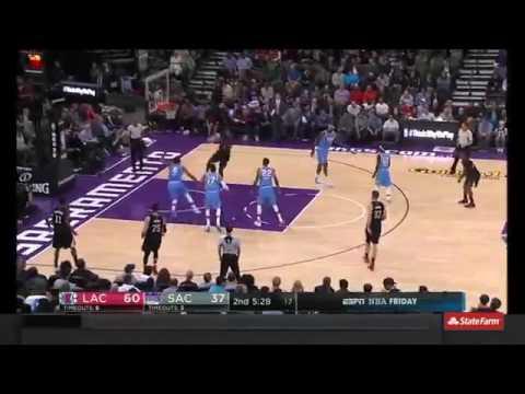 DeAndre Jordan Takes Off   Clippers vs Kings   November 18, 2016   2016 17 NBA Season