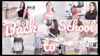 *Lucky Kids* HUGE SHOP WITH ME & HAUL FOR BACK TO SCHOOL!