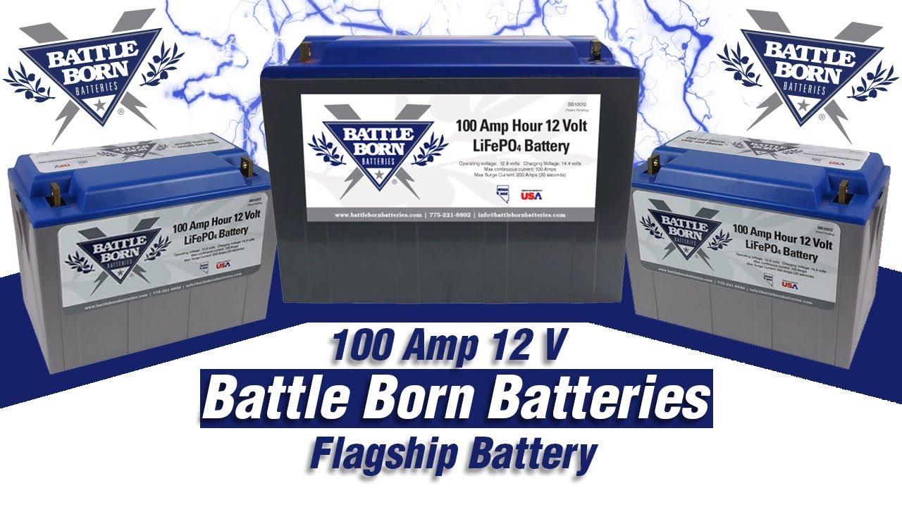 Battle Born: 100amp 12 Volt Lithium Battery | Battle Born Batteries