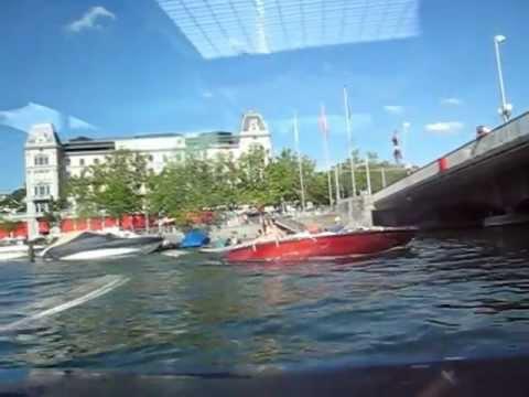 The Lake Zurich and Limmat river :: Switzerland