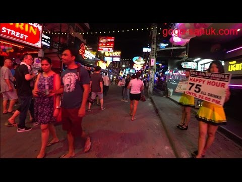 traveling alone in Pattaya-April 2017【4K】