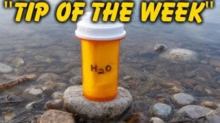 "Homemade Emergency Water Filter Kit - ""Tip Of The Week"" E33"