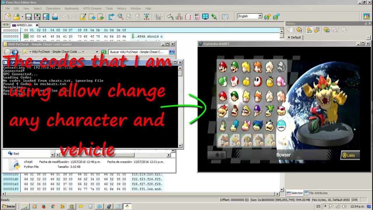 Wii U】PyCheat (Simple <b>Cheat Code</b> Loader) - How to Apply <b>Cheats</b> ...