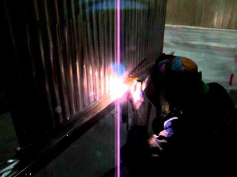 TIP TIG ALUMINIUM ABSORBER PANEL VIDEO 2