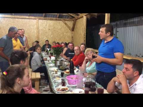 Отец убил человека! тост о настоящей дружбе! Абхазия