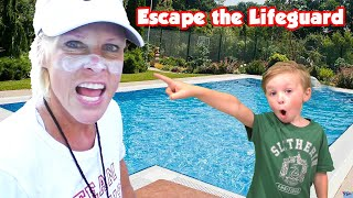 Escape the Lifeguard - Who Owns the Pool Now? (Cringiest Family Comedy)