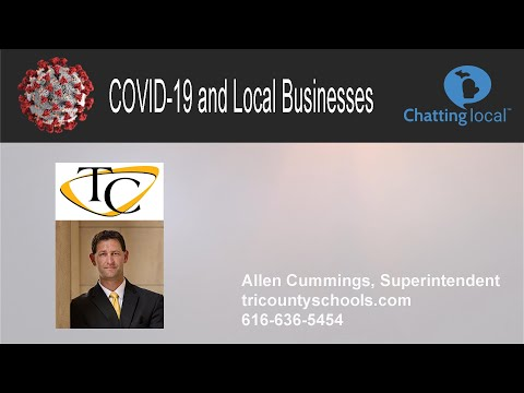 Allen Cummings Superintendent Tri County Schools chats about Covid 19 Crisis-DW Video & Multimedia