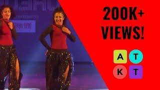 Lady Sri Ram College for Women's Dance Society Does Bollywood Right   Mood Indigo 2018