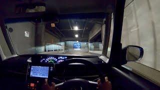 【Test Drive】 2019 Daihatsu TanTo Custom 660cc Turbo 4WD【Last Model 】- POV Night Drive