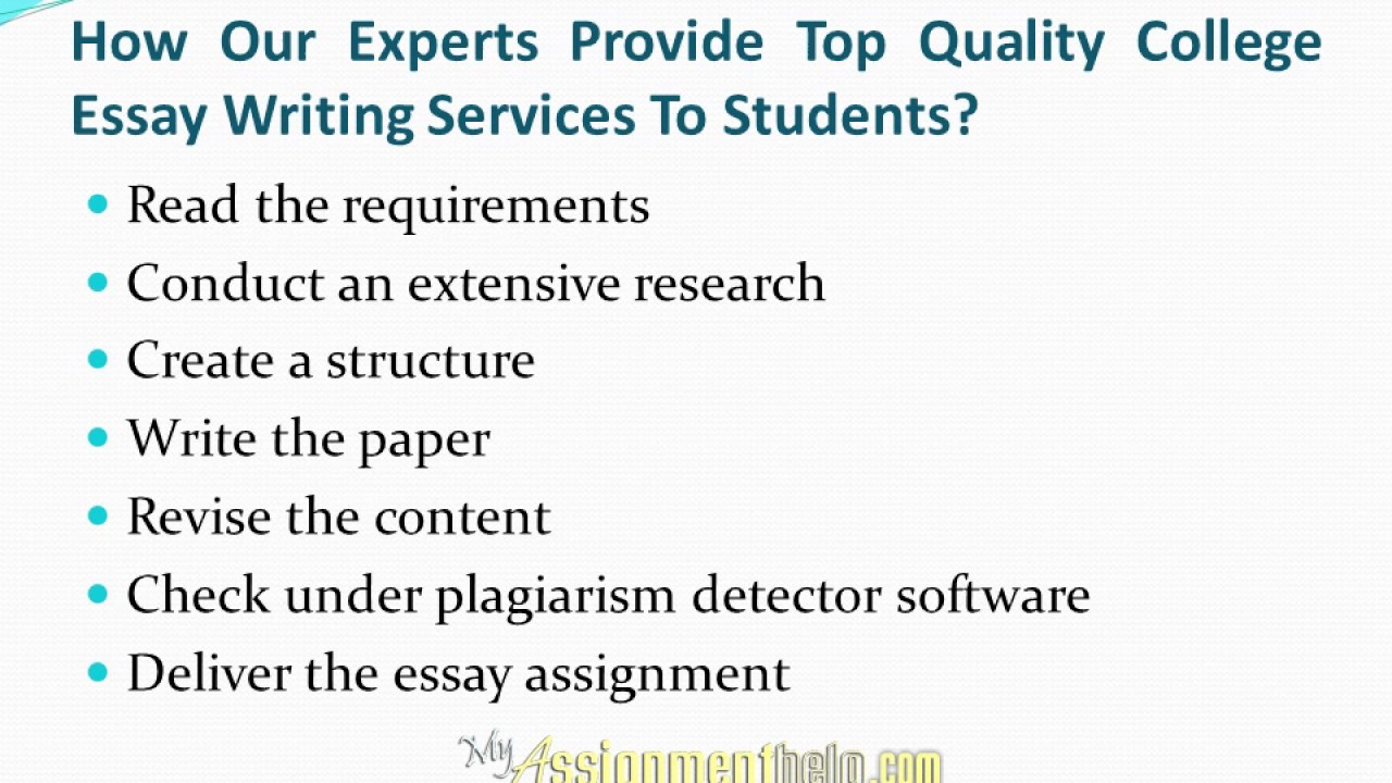 help on writing essays for college Bid4papers connects students with highly skilled academic writers the goal of our essay writing service is simple – we help you raise your grades.