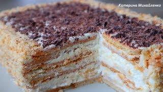Торт БЕЗ ВЫПЕЧКИ ЗА 15 МИНУТ+время на пропитку/Воздушный и Нежный десерт. Cake without baking