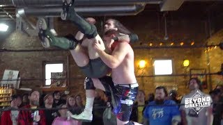 [Free Match] Chuck O'Neil vs. Mikey Webb | Beyond Wrestling 2/25/18 Powerbomb.TV PreGame (UFC MMA)