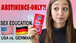 ABSTINENCE-ONLY?! Sex Education USA vs. Germany | German Girl in America