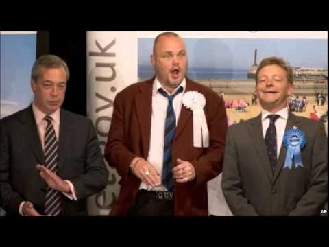 Nigel Farage resigns as UKIP leader as the party vote rises
