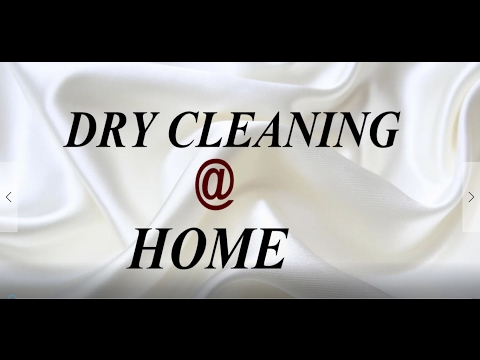 DRY CLEANING CLOTHES AT HOME/How to dry clean at home/How to start dry cleaning business