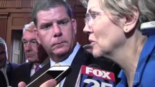 Sen. Warren has strong words about Oregon shooting