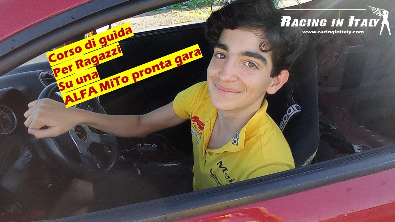 What to do with kids in Milan? Motor sport activity for teenagers   Racing Courses with Race Cars