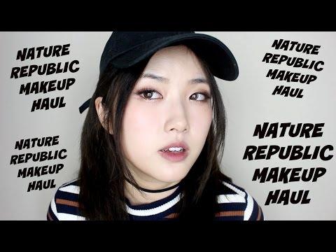 NATURE REPUBLIC MAKEUP HAUL | 네이처리퍼블릭 메이크업 하울