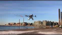 5G ja multikopteri lennättävät avun nopeasti perille