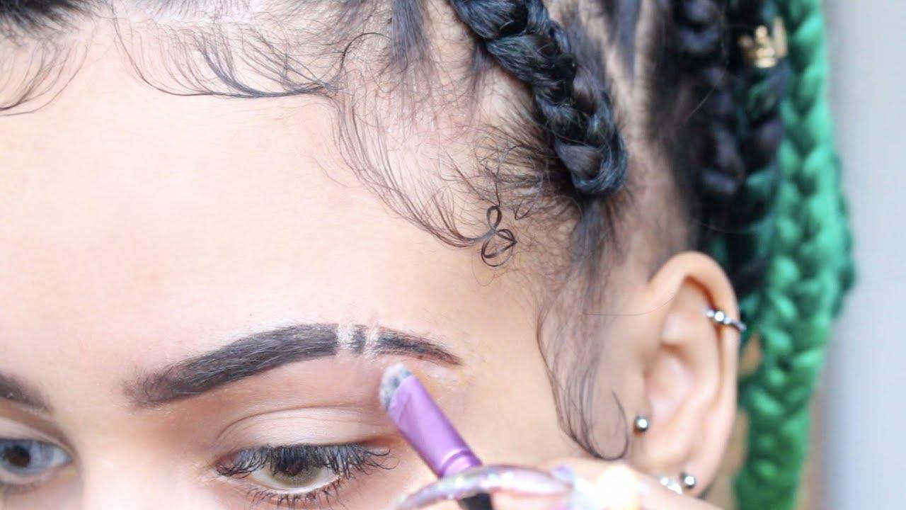 How To Fleek Eyebrow Cuts Vanessa Lynn Ortizv95 Youtube
