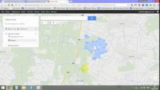 Урок 1. Нанасимо точки спосережень на Google maps для експорту в QGIS.