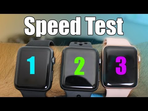 Apple Watch Series 3 vs Series 2 & 1 (Which is the best choice) Speed Comparisons And Review
