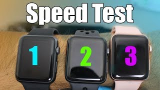 Apple Watch Series 3 vs Series 2 & 1 (Which is the best choice) Speed Comparisons And Review - Hotshot