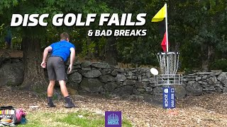 2020 DISC GOLF FAILS, BAD BREAKS & LOWLIGHTS | Gatekeeper Media | Wysocki, Jones, Lizotte, Koling