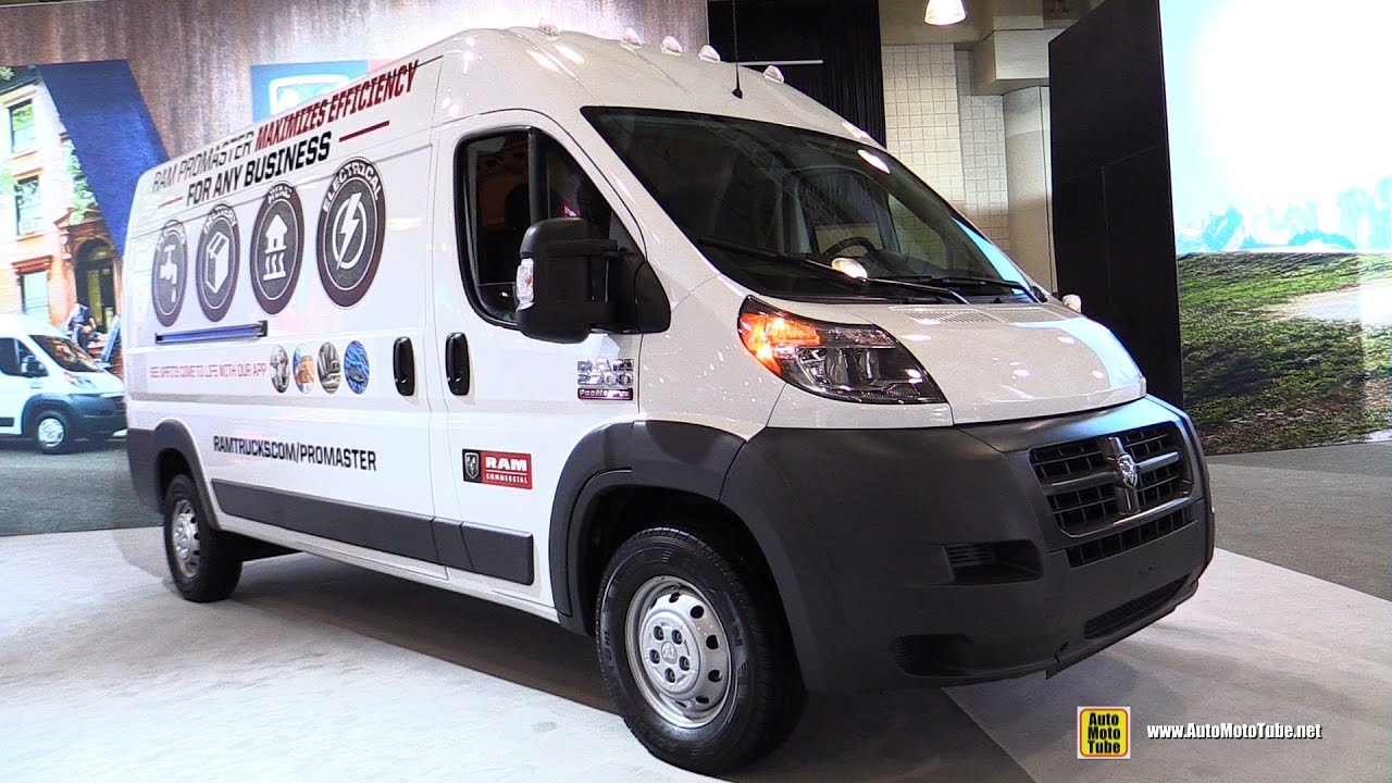 2017 Ram Promaster Cargo Van Exterior And Interior Walkaround New York Auto Show