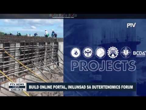 Build Online Portal, inilunsad sa Dutertenomics Forum