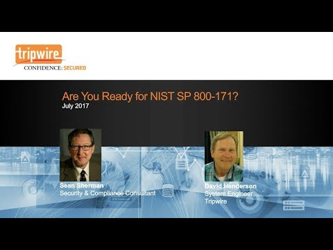 Webcast: Are You Ready For NIST 800-171?