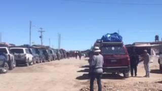 Colchani. Bolivia