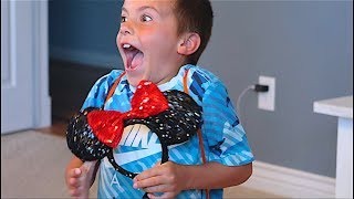 WE'RE GOING TO DISNEYLAND FOR YOUR BIRTHDAY!