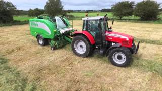 McHale Farm Machinery in action Silage 2015