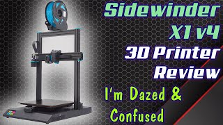 Artillery Sidewinder X1 v4 3D Printer Review
