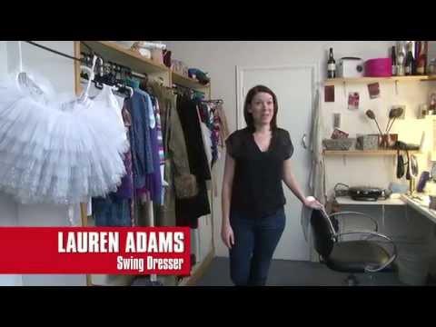 Backstage with... Lauren Adams, Swing Dresser   Billy Elliot The Musical