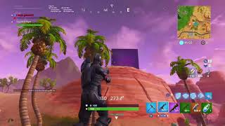 The crack is gone (Fortnite battle royale)