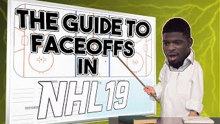 NEW COUNTERS! The Guide to FACEOFFS in NHL 19