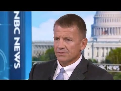 Erik Prince's Push to Privatize the Afghanistan War