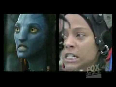 Avatar - Rodaje de Zoe...
