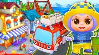 Про пожарных мультик Пожарники мультик Игра про пожарных Про пожарную машину мультик Пожарная машина