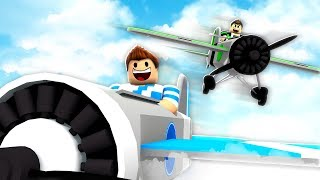 ROBLOX AIRCRAFT RACE!!