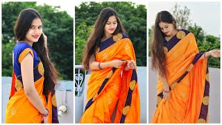 Saree Poses  Deas Simple And Elegant Saree Poses For Photoshoot Must Watch Video