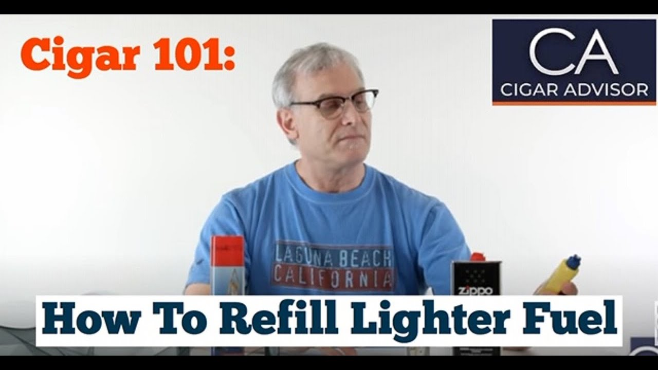 How To Light A Cigar With Butane And Lighter Fluid