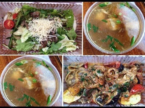 Японский суп из семги